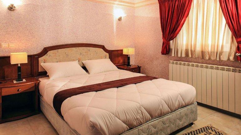 اتاق دو تخته دبل هتل جهانگردی نهارخوران