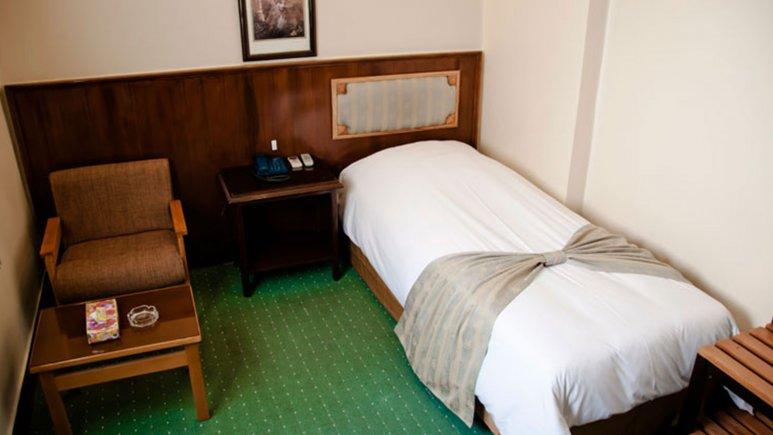 هتل ایرانشهر تهران اتاق یک تخته