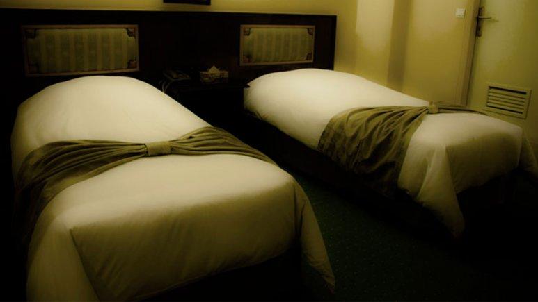 هتل ایرانشهر تهران اتاق دو تخته تویین