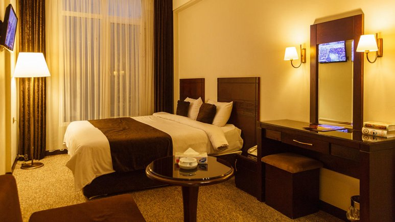 هتل جواهر شرق مشهد اتاق دو تخته دابل 6