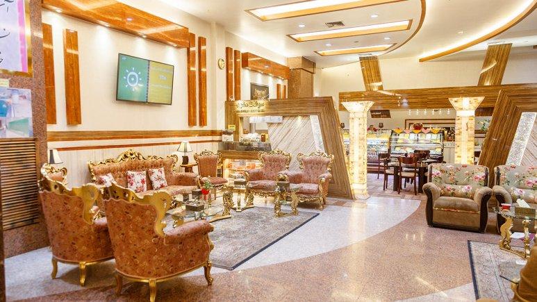 هتل دیپلمات مشهد لابی