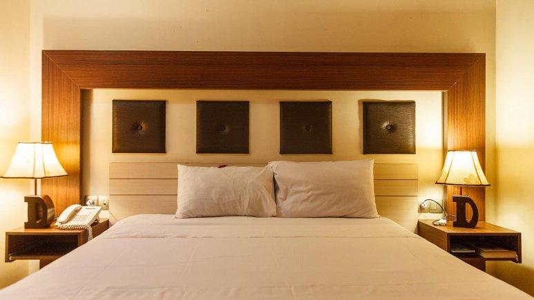 هتل دیپلمات مشهد اتاق دو تخته دابل 1