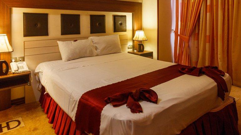 هتل دیپلمات مشهد اتاق دو تخته دابل 2