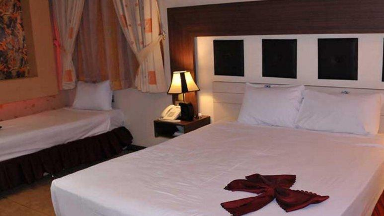 هتل دیپلمات مشهد اتاق سه تخته
