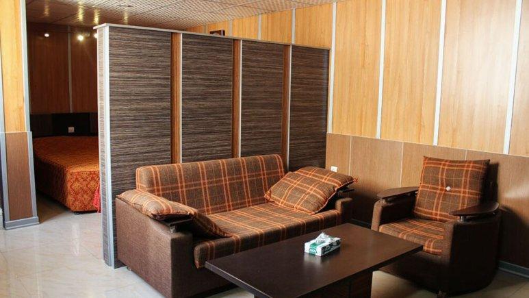 هتل نادری اهواز فضای داخلی اتاق ها