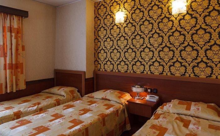 هتل شیراز تهران سوئیت سه تخته 1