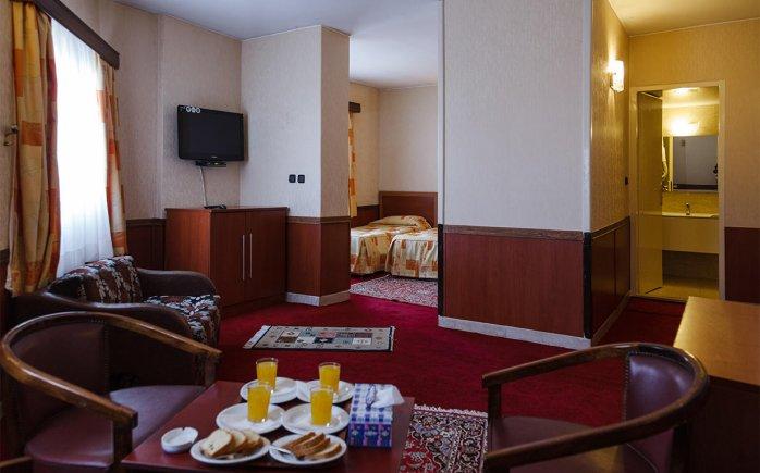 هتل شیراز تهران فضای داخلی سوئیت ها