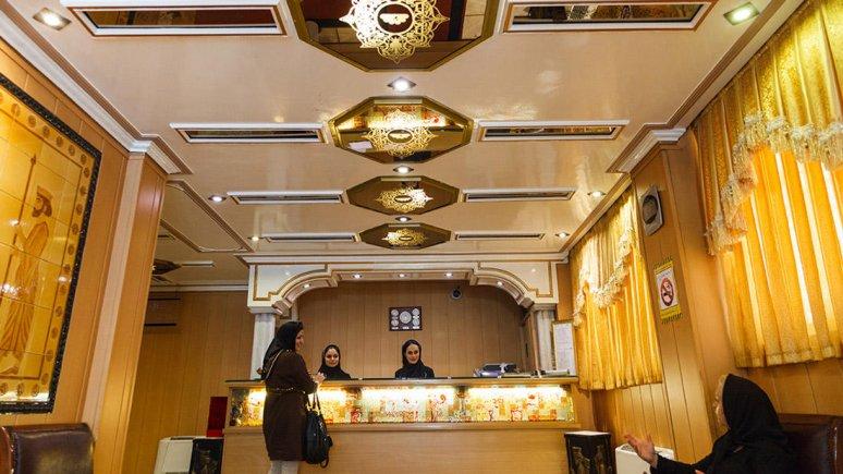 هتل شیراز تهران پذیرش