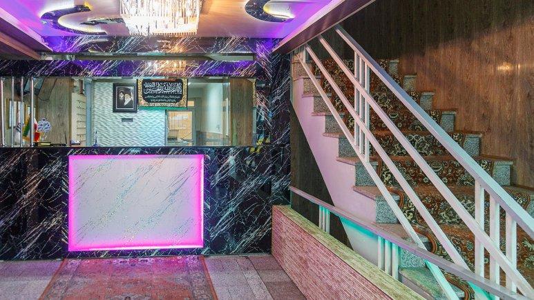 هتل آپارتمان ارس تبریز پذیرش