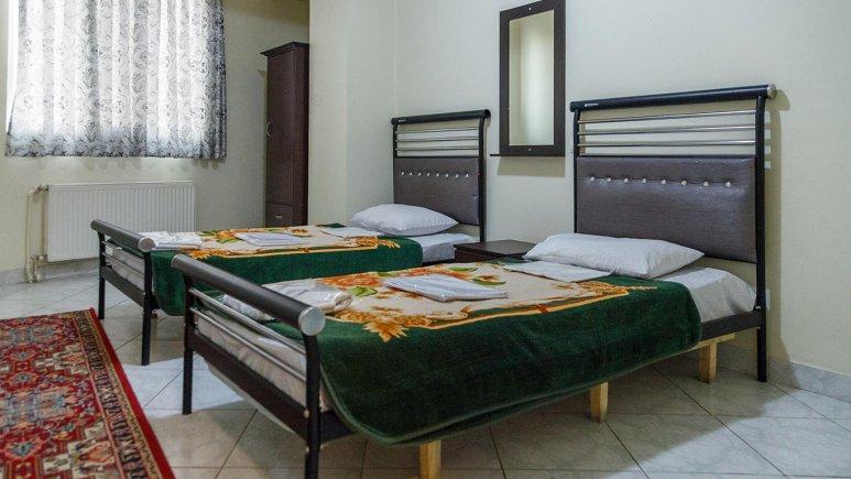 هتل آپارتمان ارس تبریز سوئیت دو تخته تویین