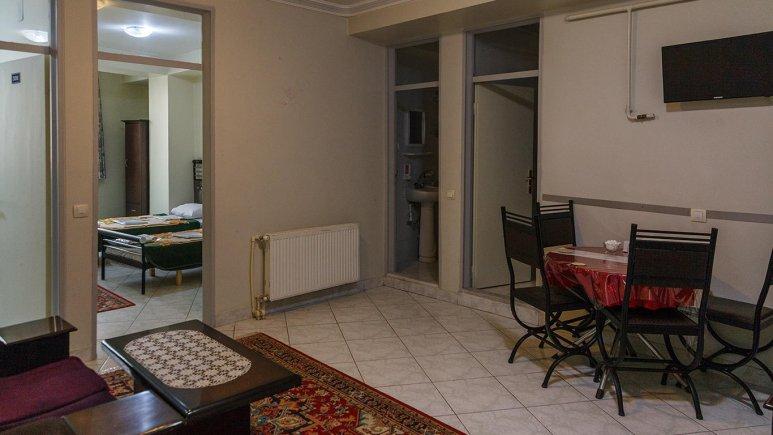هتل آپارتمان ارس تبریز فضای داخلی سوئیت ها 2