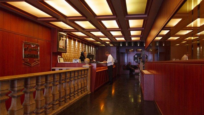 نمایی از  پذیرش هتل پارسا