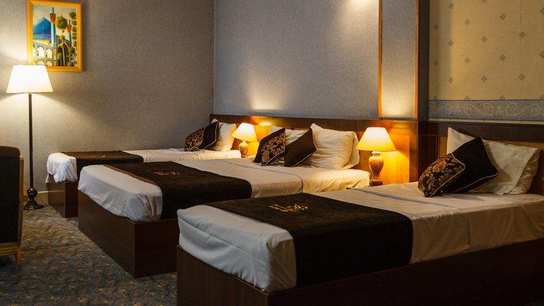 هتل ستاره اصفهان اتاق سه تخته