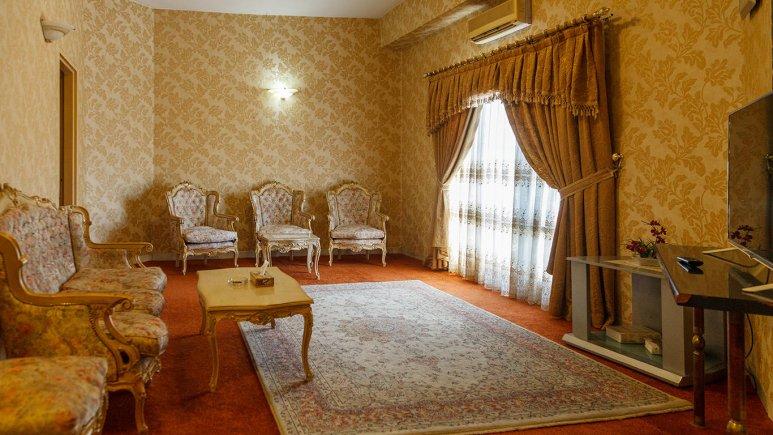 هتل پتروشیمی تبریز فضای داخلی سوئیت ها 2