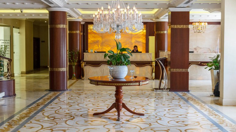 هتل سورینت مریم کیش لابی 1