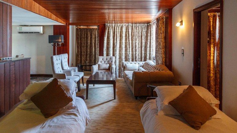 هتل سورینت مریم کیش فضای داخلی سوئیت ها