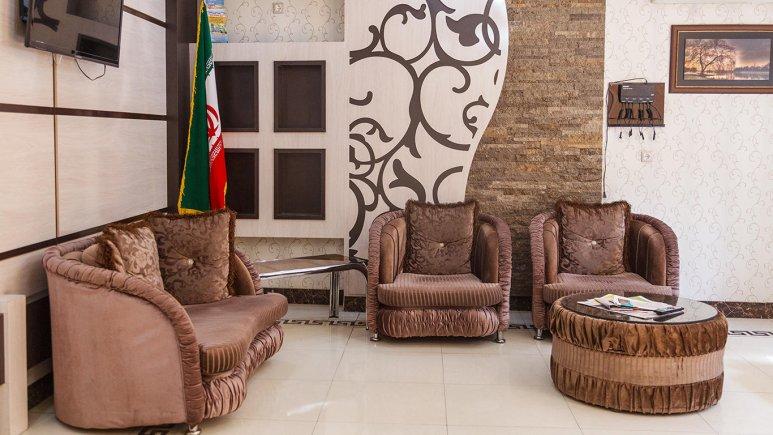 -هتل آپارتمان شارین مشهد لابی