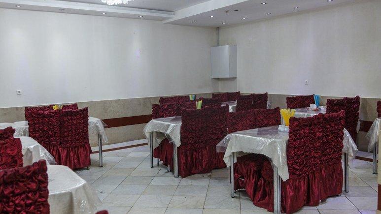 -هتل آپارتمان شارین مشهد رستوران