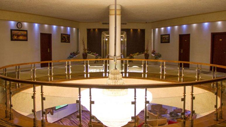 هتل پارس کاروانسرا آبادان فضای دااخلی هتل