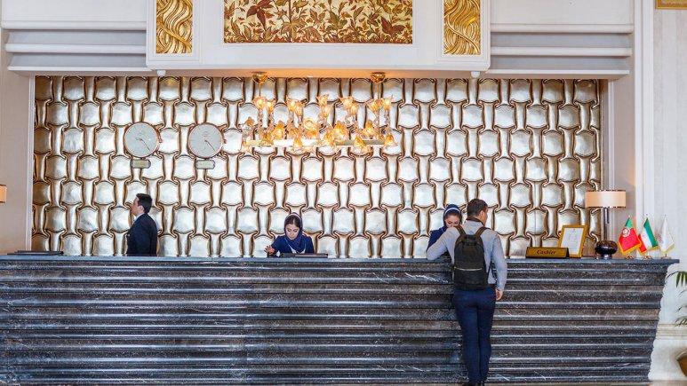 هتل اسپیناس پالاس بهرود تهران پذیرش