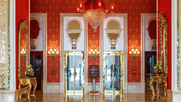 هتل اسپیناس پالاس بهرود تهران لابی 2