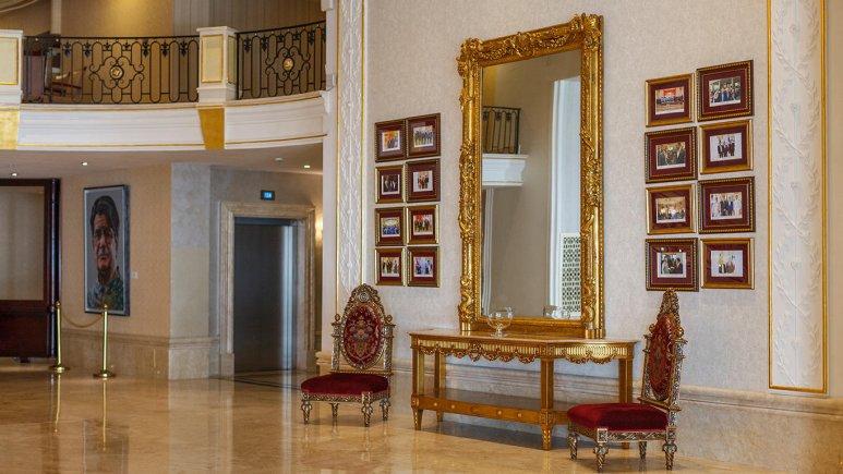 هتل اسپیناس پالاس بهرود تهران لابی 3