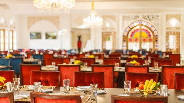 هتل اسپیناس پالاس بهرود تهران رستوران 1