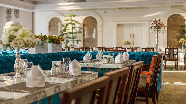 هتل اسپیناس پالاس بهرود تهران رستوران 4