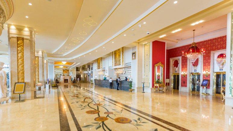 هتل اسپیناس پالاس بهرود تهران لابی 6