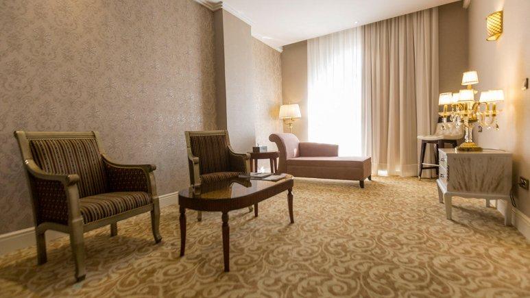 هتل اسپیناس پالاس بهرود تهران فضای داخلی اتاق ها 5