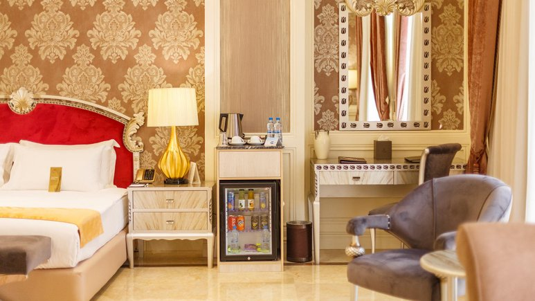 هتل اسپیناس پالاس بهرود تهران فضای داخلی اتاق ها 10