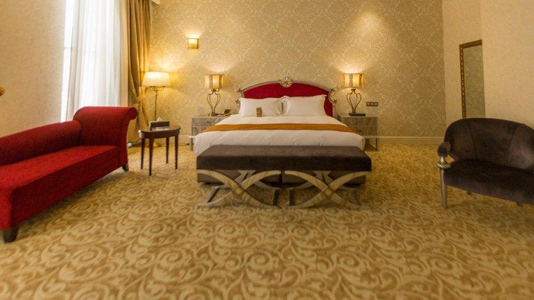 هتل اسپیناس پالاس بهرود تهران اتاق دو تخته دابل 4
