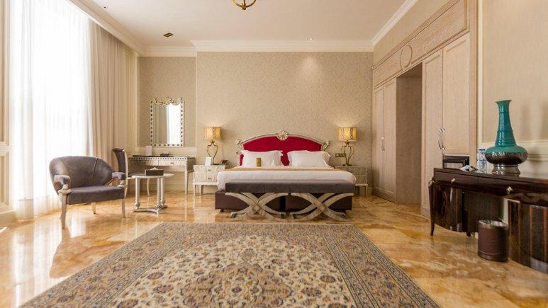هتل اسپیناس پالاس بهرود تهران اتاق دو تخته دابل 5