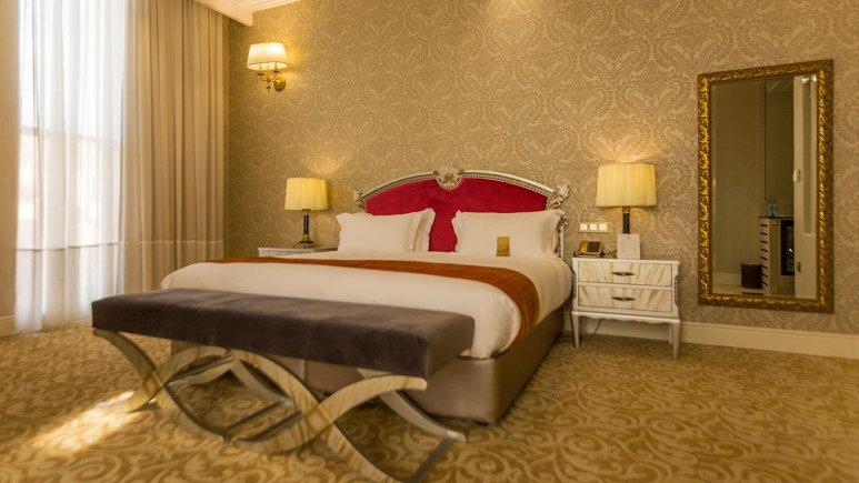 هتل اسپیناس پالاس بهرود تهران اتاق دو تخته دابل 6