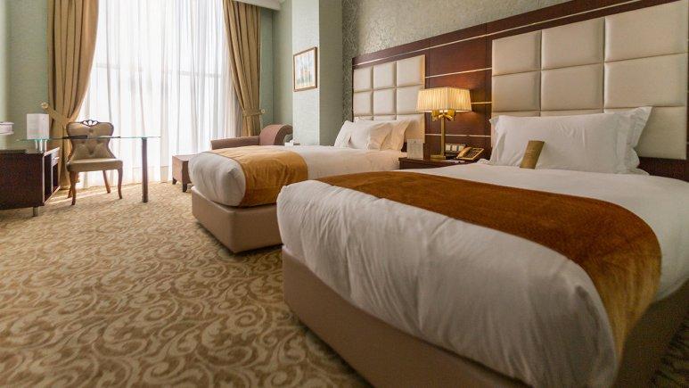هتل اسپیناس پالاس بهرود تهران اتاق دو تخته تویین 1