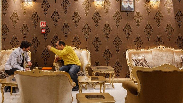 هتل آرامیس تهران لابی
