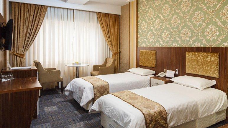 هتل آرامیس تهران اتاق دو تخته تویین