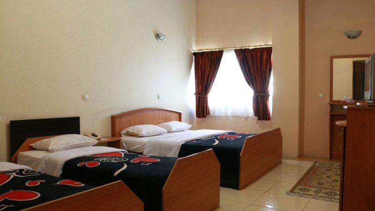 اتاق چهار تخته هتل همام