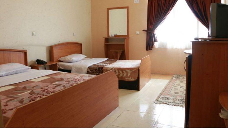 اتاق سه تخته هتل همام