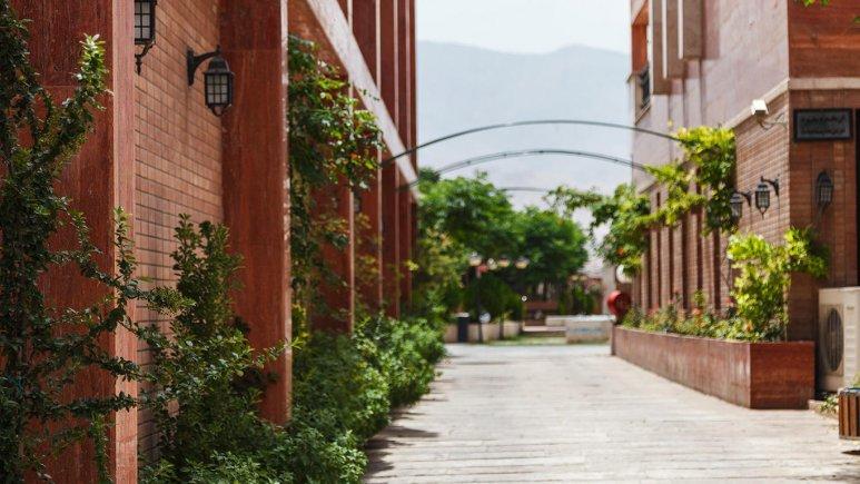هتل خانه رز کاشان فضای بیرونی هتل 3