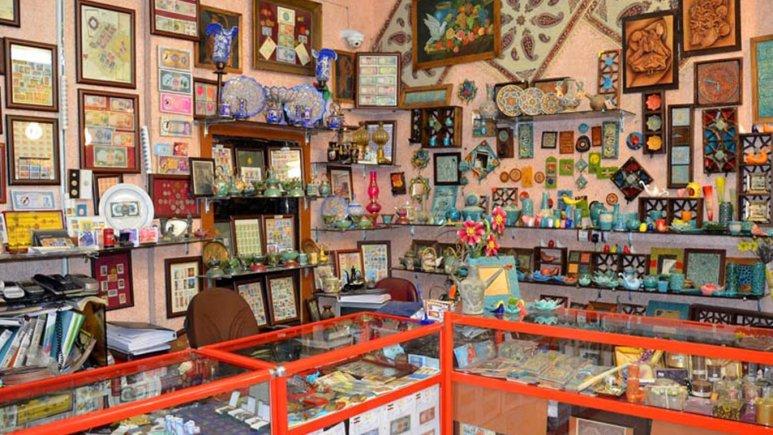فروشگاه صنایع دستی هتل جلفا