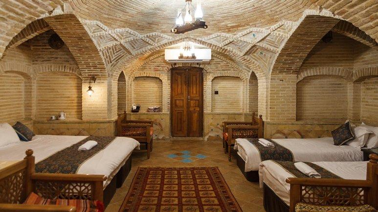 سوییت چهار تخته هتل سنتی عتیق
