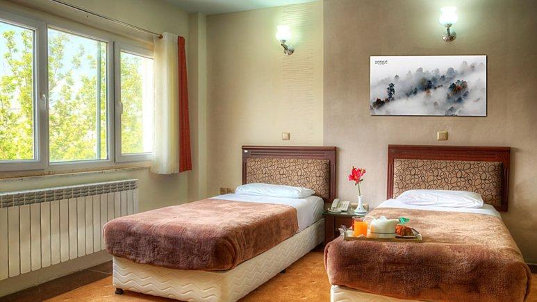 اتاق دو تخته تویین  هتل جهانگردی سنندج