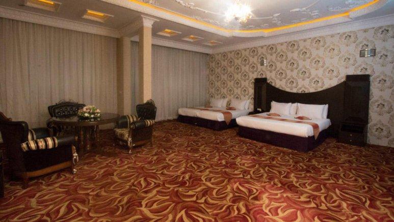 هتل بابا طاهر همدان سوئیت چهار تخته جونیور هافبرد