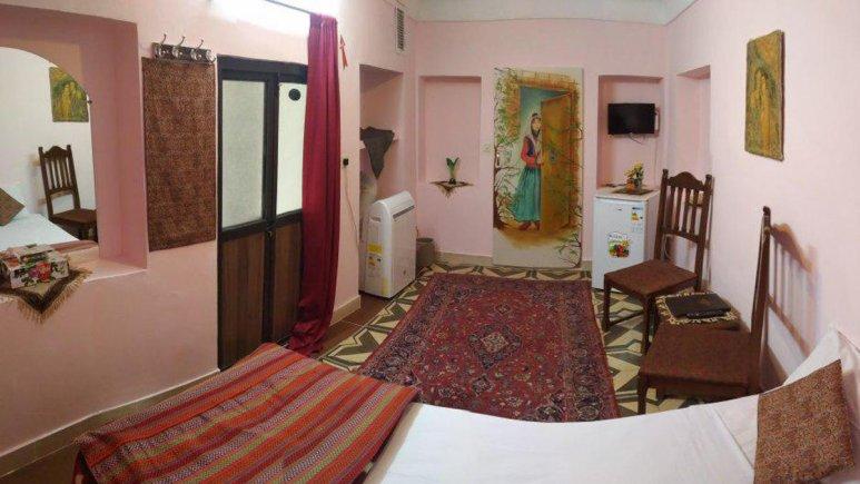 هتل سنتی نگین کاشان اتاق یک تخته الماس