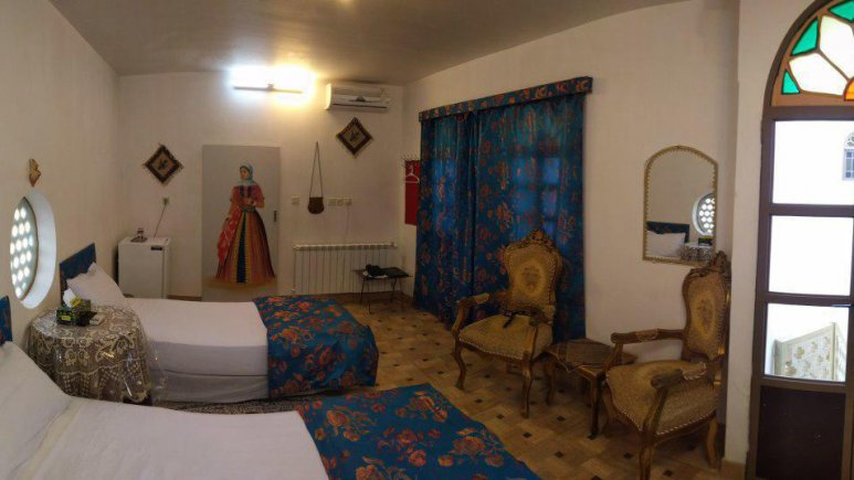 هتل سنتی نگین کاشان اتاق دو تخته تویین بالاخانه