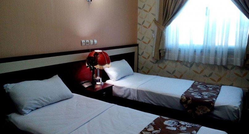 اتاق دوتخته هتل امیر