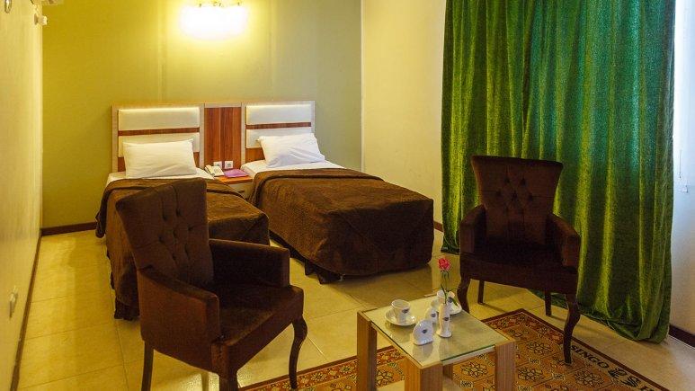 هتل سینگو درگهان اتاق دو تخته تویین 1