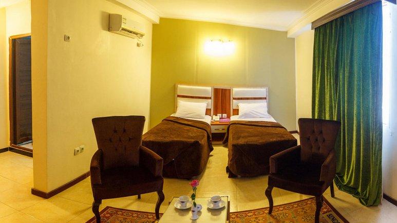 هتل سینگو درگهان اتاق دو تخته تویین 2