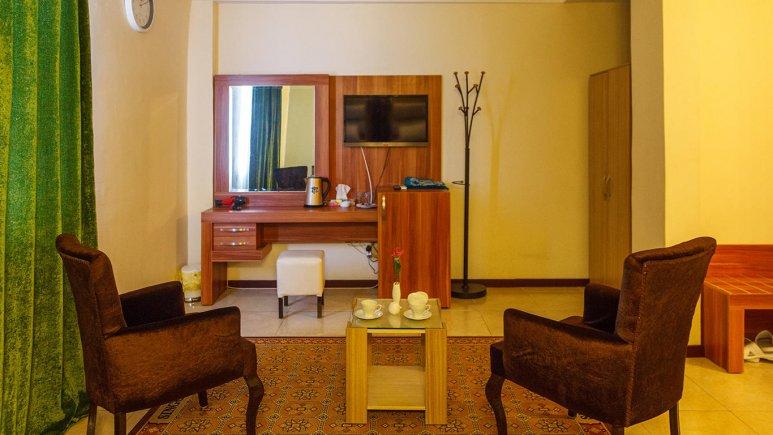 هتل سینگو درگهان فضای داخلی اتاق ها